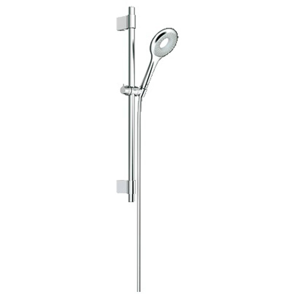 grohe rainshower icon 100 chrome 1 spray shower rail set. Black Bedroom Furniture Sets. Home Design Ideas