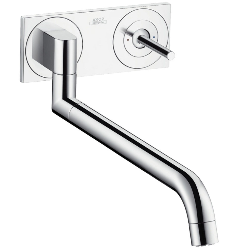 hansgrohe axor uno chrome single lever concealed. Black Bedroom Furniture Sets. Home Design Ideas