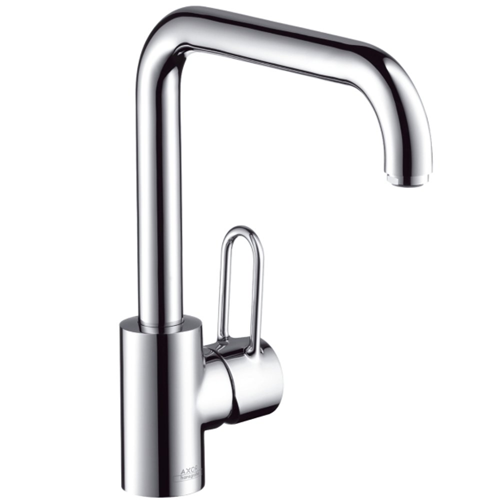 hansgrohe axor uno chrome single lever kitchen sink mixer. Black Bedroom Furniture Sets. Home Design Ideas