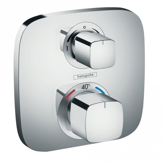 hansgrohe shower valve. hansgrohe ecostat e thermostatic concealed 2 way shower mixer valve d