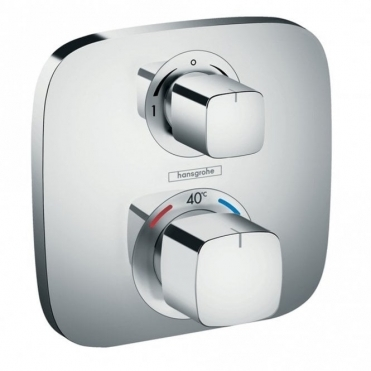 Hansgrohe Ecostat E Thermostatic Mixer For Concealed Installation For 2 Outlets With Shut-Off / Diverter Valve 15708000