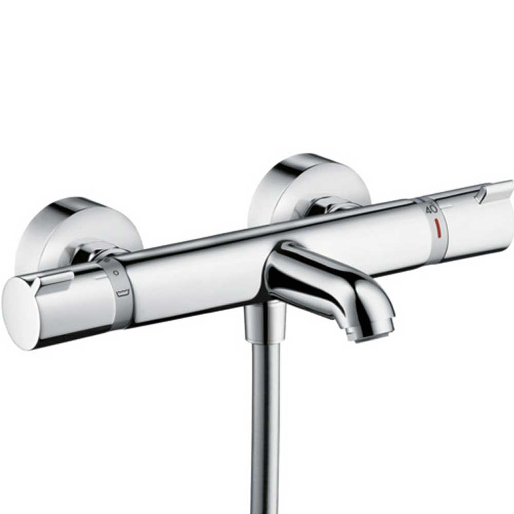 Hansgrohe Ecostat Thermostatic Exposed Bath Mixer Shower Valve ...