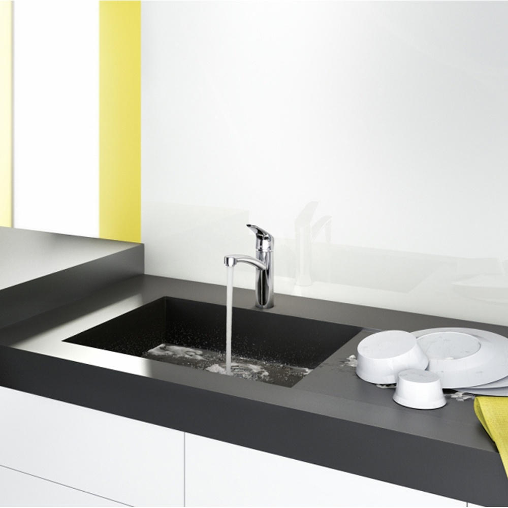 Hansgrohe Focus Chrome Single Lever Kitchen Sink Mixer Tap ...