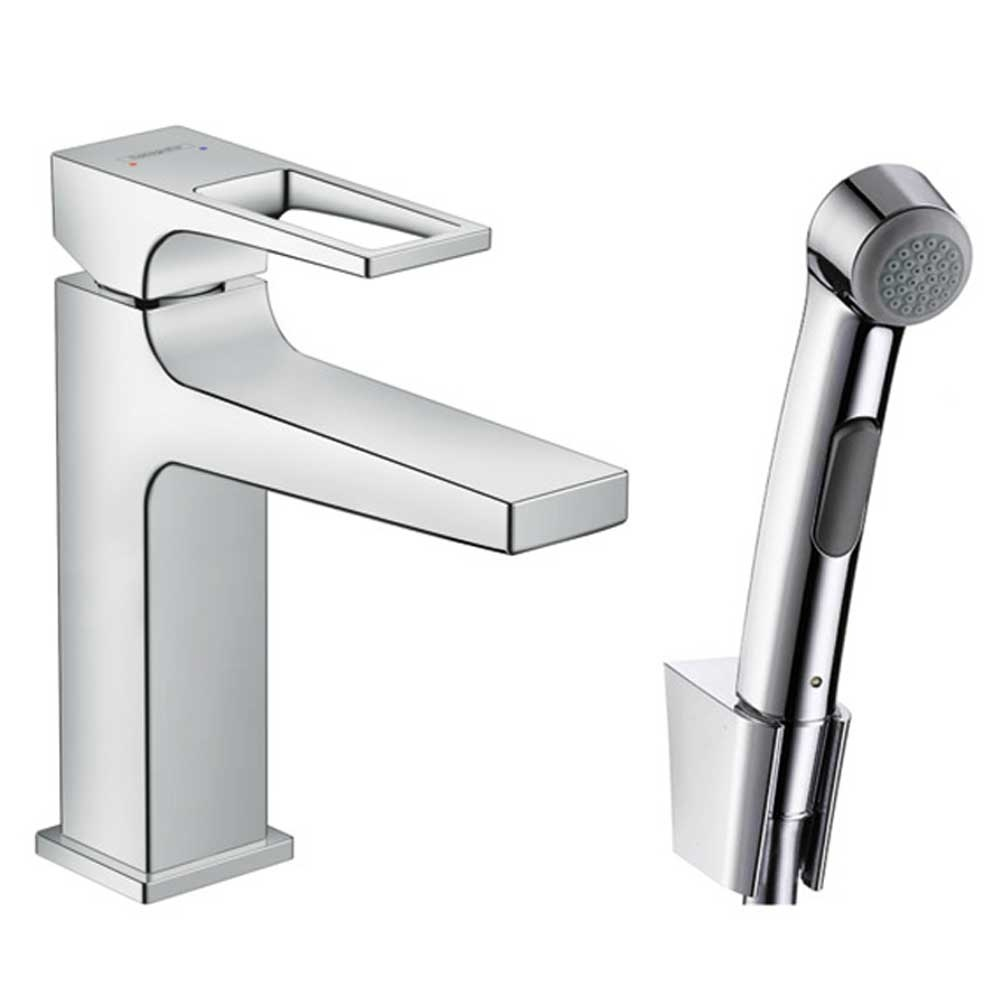 Hansgrohe Metropol D Handle Chrome Bidet 1Jet Shower Spray Basin ...