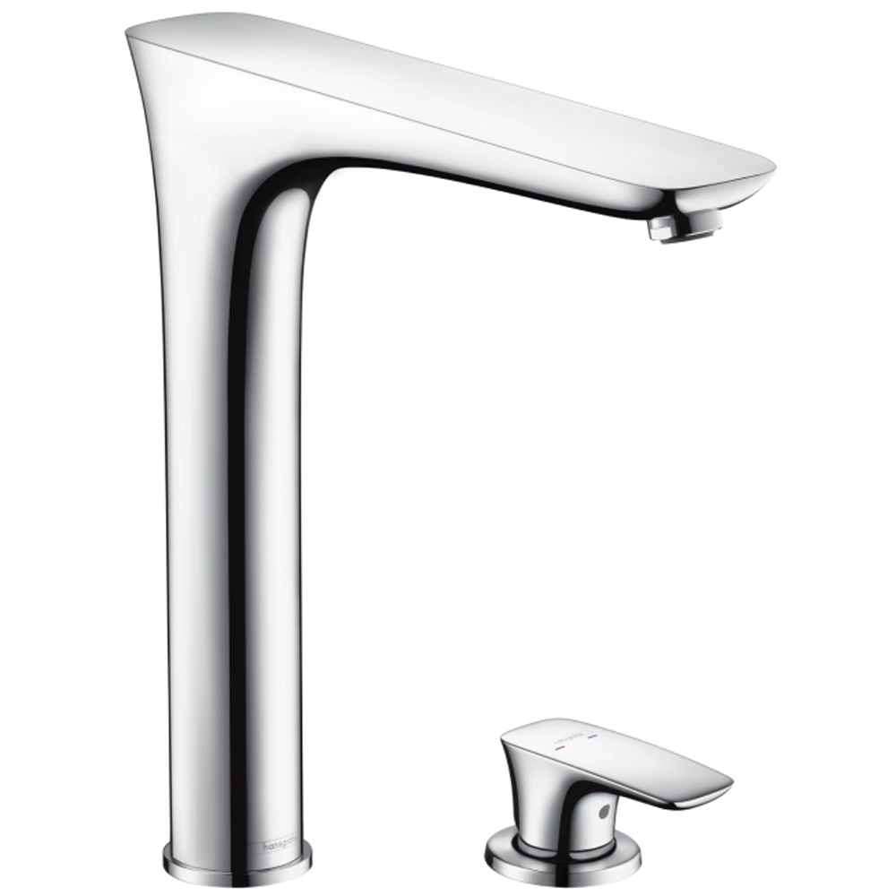 hansgrohe puravida chrome single lever kitchen sink mixer. Black Bedroom Furniture Sets. Home Design Ideas