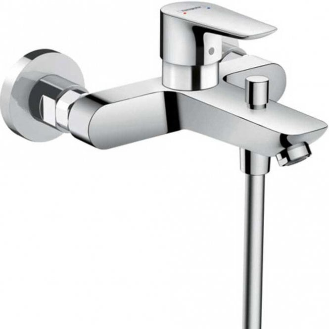 Extrem Hansgrohe Talis E Chrome Single Lever Bath Mixer Tap - Hansgrohe OF83