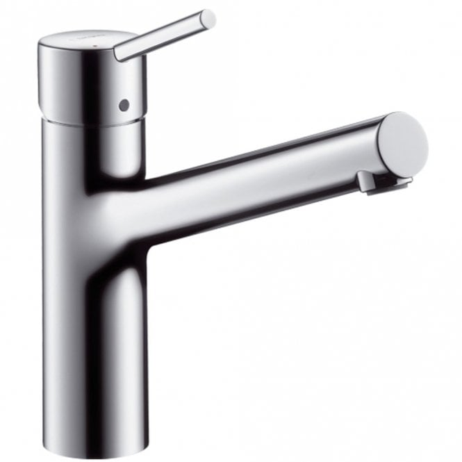 Hansgrohe Talis S Stainless Steel Optic Single Lever Kitchen Sink ...