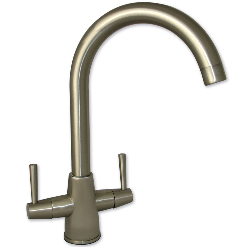 Kitchen Sink Spout : View All None ? View All Twin Lever Taps ? View All Brushed Steel ...