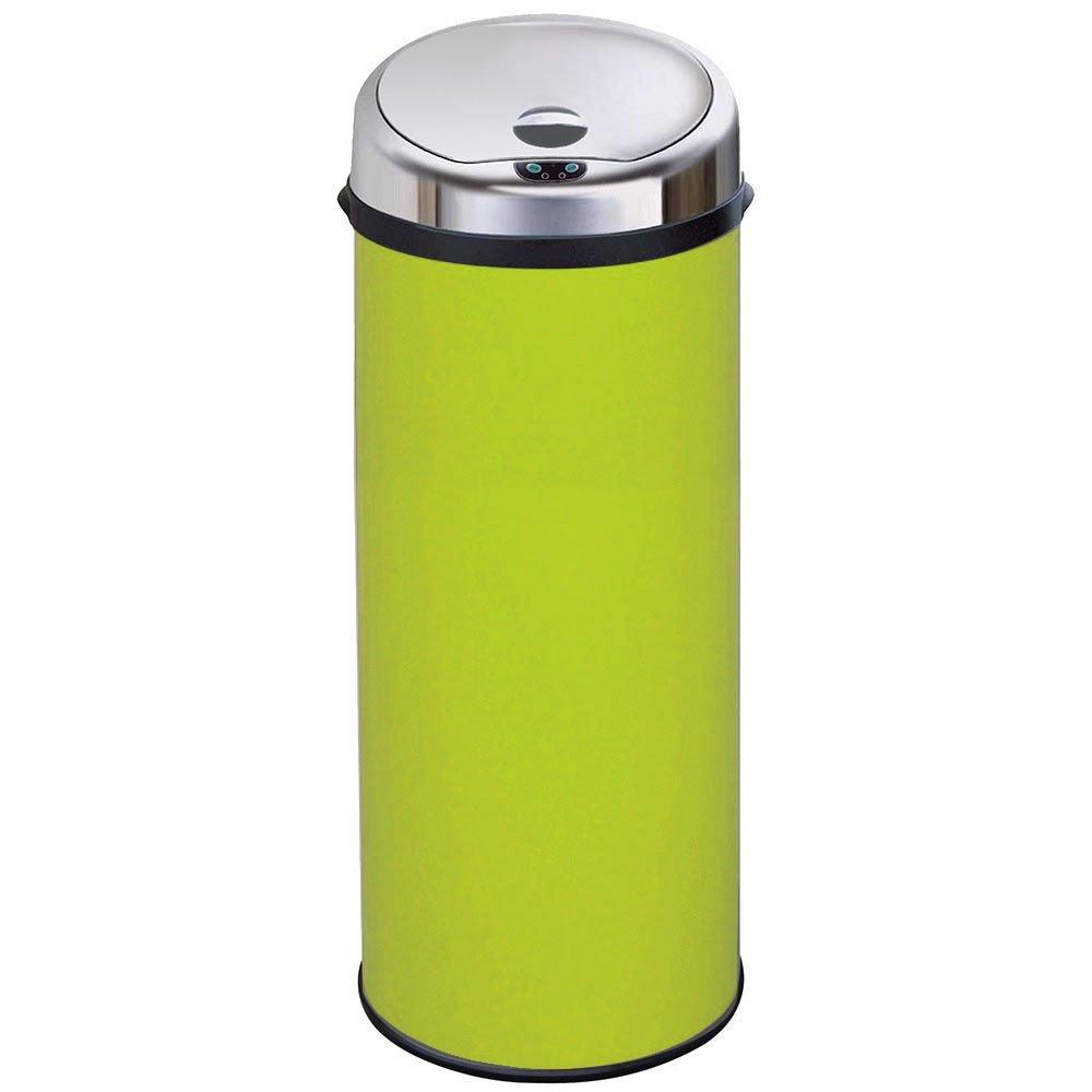 Kitchen Waste Bins #16: Inmotion 50L Lime Green Stainless Steel Auto Automatic Sensor Kitchen Waste Dust Bin ...