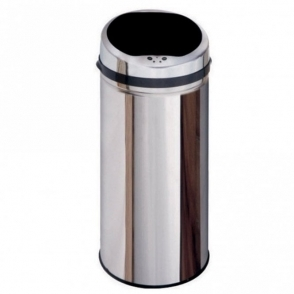 Inmotion 50L Stainless Steel Auto Sensor Kitchen Waste Dust Bin