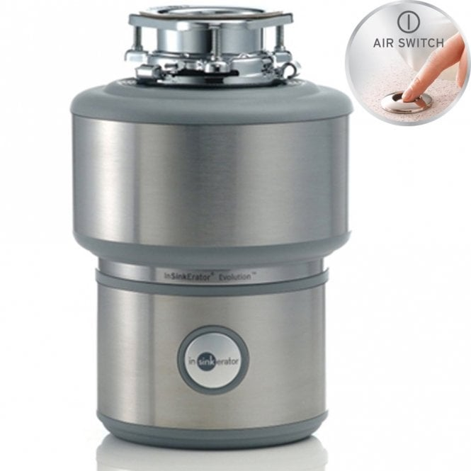 Insinkerator Evolution 200 Kitchen Sink Waste Disposal Unit & Air ...
