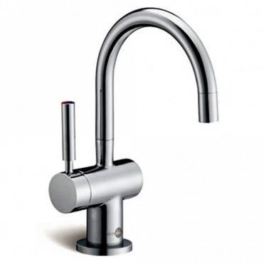 Insinkerator Ise Brushed Steel Steaming Hot & Cold Kitchen Kettle Tap