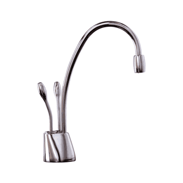 Insinkerator Ise Chrome Steaming Hot & Cold Kitchen Sink Kettle Tap HC1100C (P)