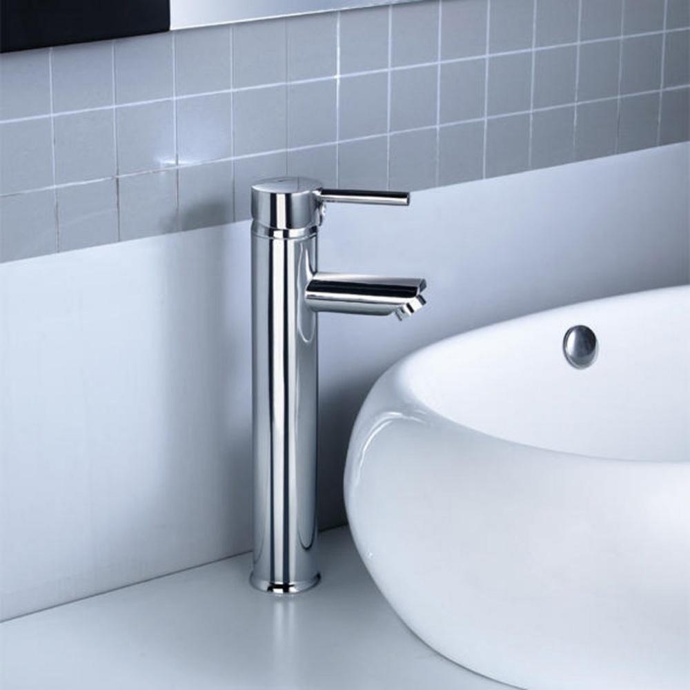 ... Bathroom Taps › Kadaya Tall Monobloc Bathroom Basin Mixer Tap T3006F