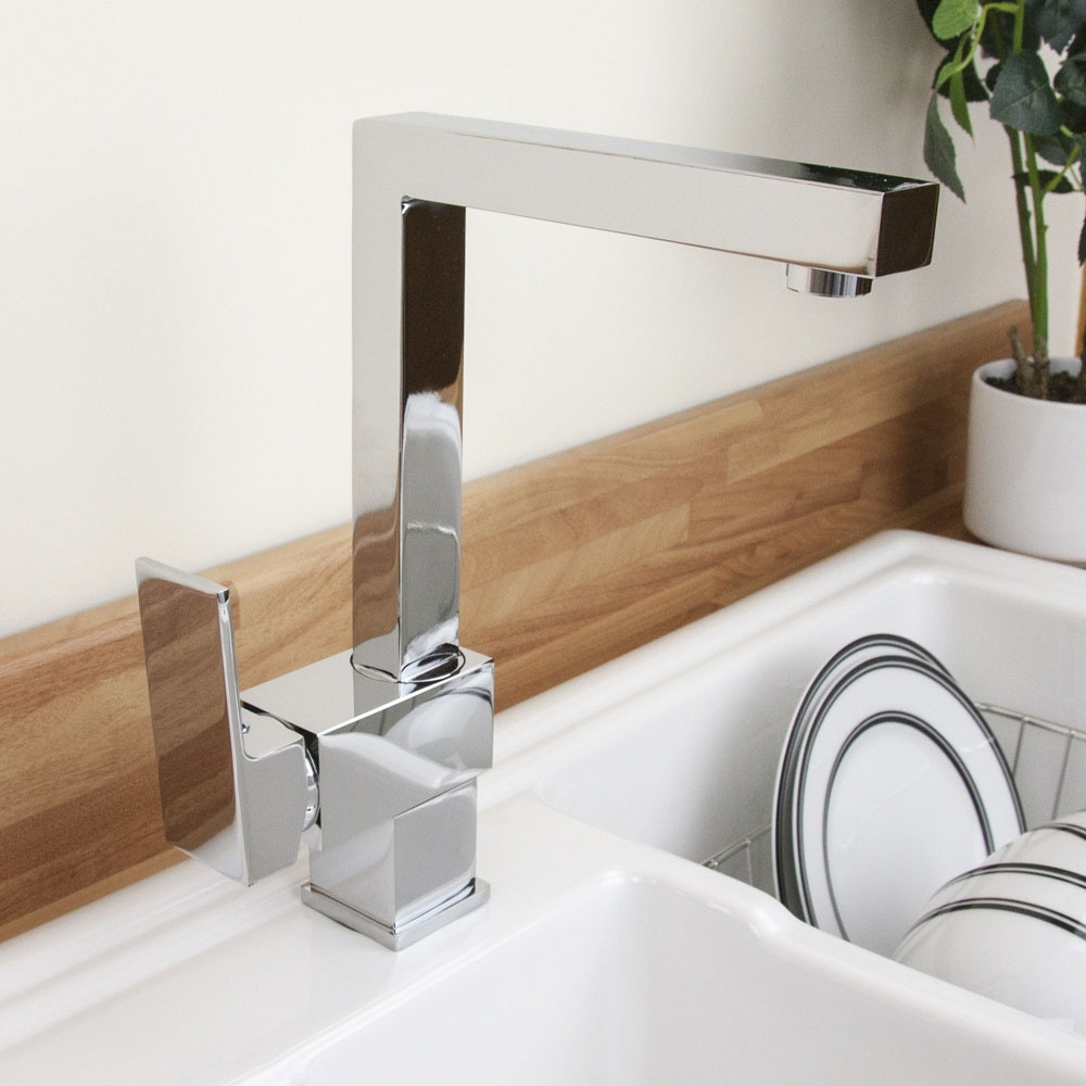 Kitchen Sink Spout : View All Single Lever Taps ? View All Contemporary Single Lever Taps ...