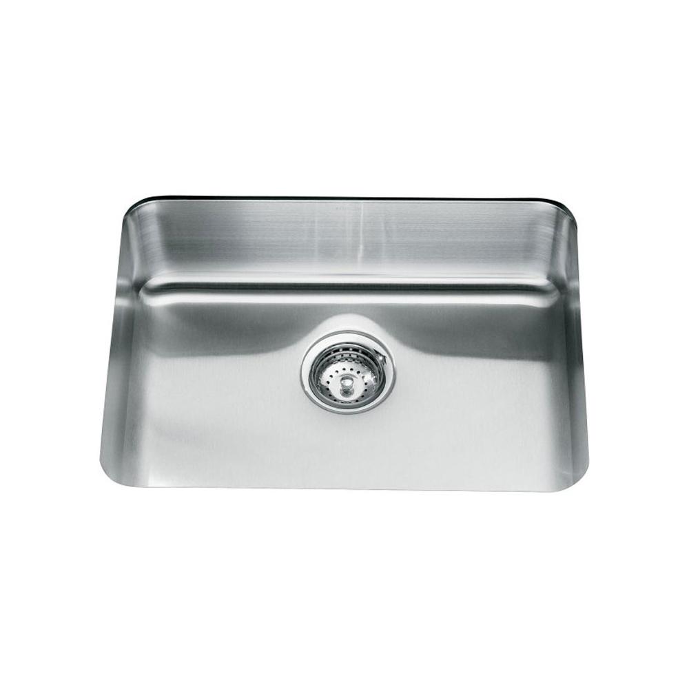 kohler icerock 1 0 bowl stainless steel kitchen sink 3325w kohler