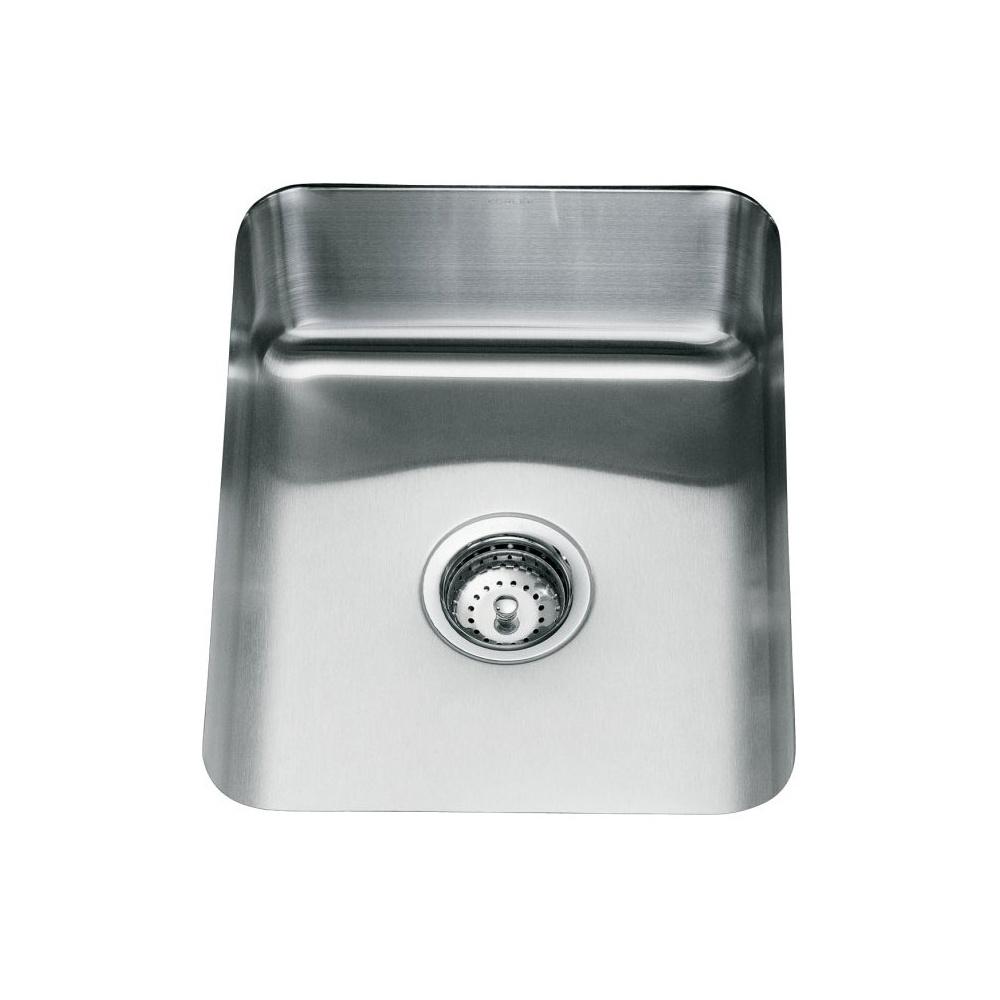 Kohler Icerock 1.0 Bowl Stainless Steel Kitchen Sink 3334W - Kohler ...