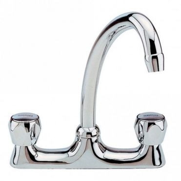 Leisure Sinks Leisure Deck Mixer Chrome Kitchen Sink Mixer Tap TDM1