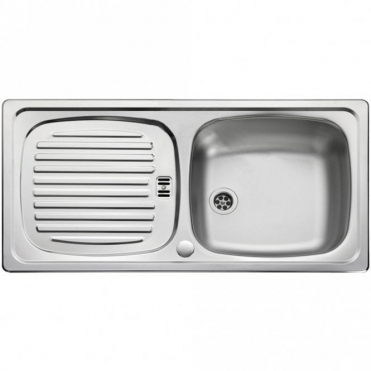 Leisure Sinks Leisure Euroline 1.0 Bowl Reversible Polished Stainless Steel Kitchen Sink