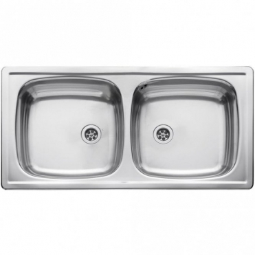 Leisure Sinks Leisure Euroline 2.0 Bowl Polished Stainless Steel Kitchen Sink