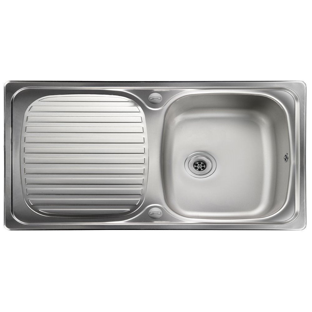 Best Stainless Steel Sinks Rated : ... sinks view all 1 0 bowl sinks view all leisure sinks 1 0 bowl sinks