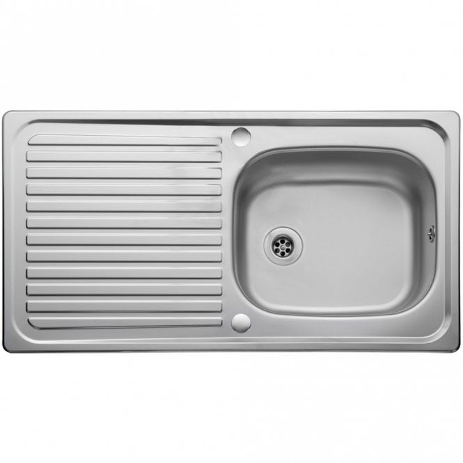 Leisure Linear 1.0 Bowl Reversible Stainless Steel Kitchen Sink ...