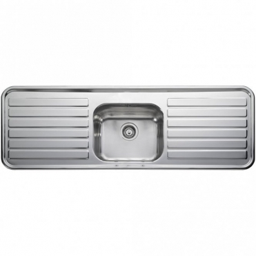 Leisure Sinks Leisure Luxe 1.0 Bowl Polished Stainless Steel Kitchen Sink & Waste