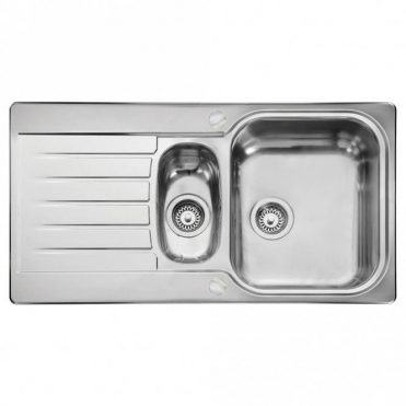 Leisure Sinks Leisure Seattle 1.5 Bowl Reversible Polished Stainless Steel Kitchen Sink