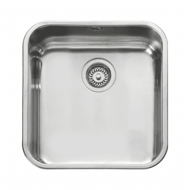 Leisure Sinks Leisure Single 1.0 Bowl Undermount Polished Stainless Steel Kitchen Sink & Waste