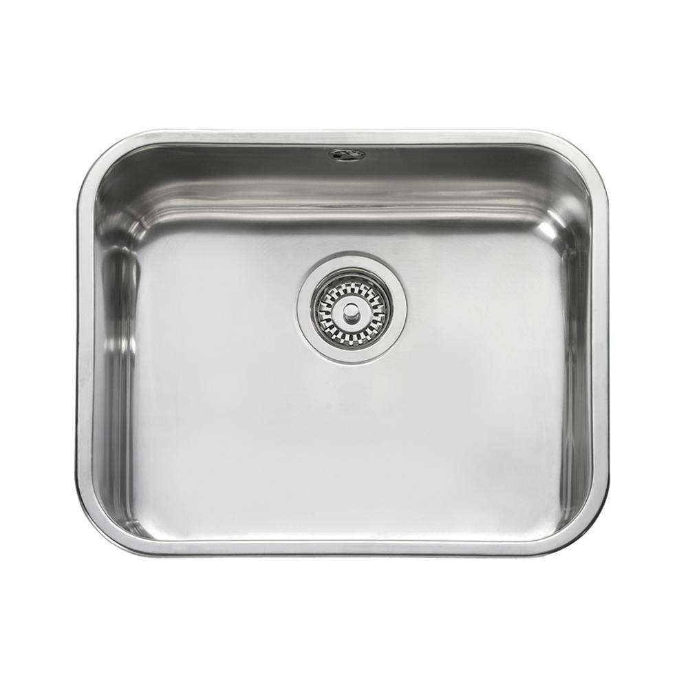 Single Basin Stainless Steel Sink : ... sinks view all 1 0 bowl sinks view all leisure sinks 1 0 bowl sinks