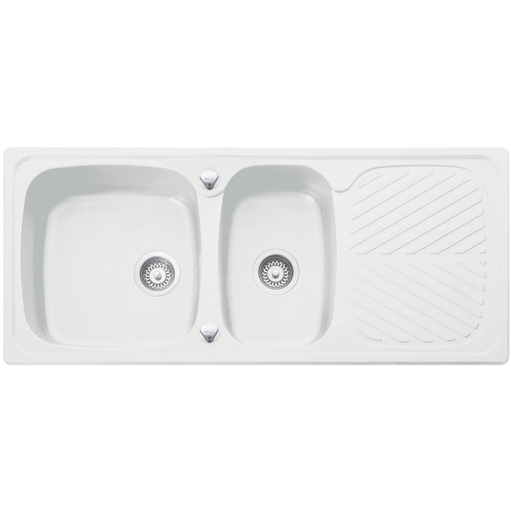 Franke White Composite Sink : ... Sinks ? View All 1.5 Bowl Sinks ? View All Leisure Sinks 1.5 Bowl