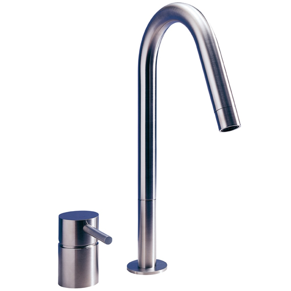 ... Stainless Steel Kitchen Sink Mixer Tap 0117P - MGS from TAPS UK
