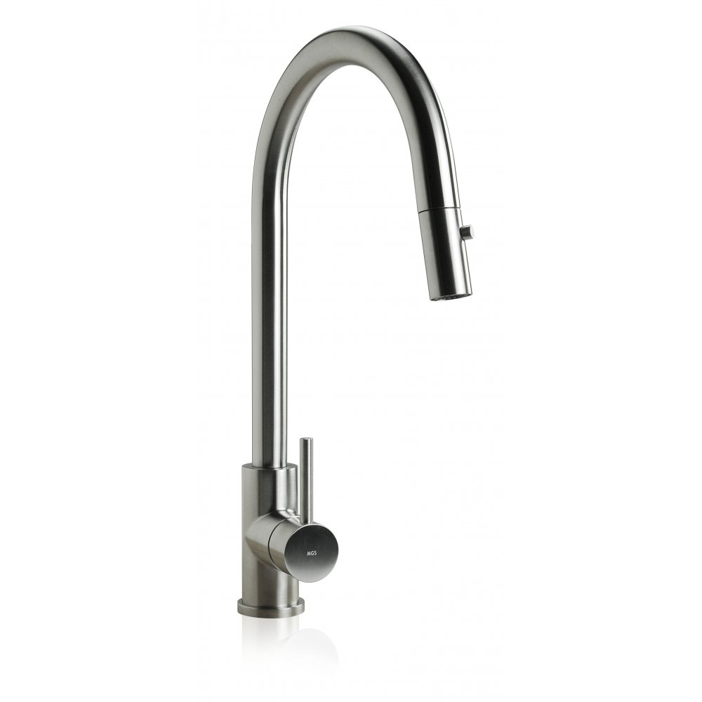Kitchen Sink Spout : MGS Spin D Matt Pullout Spout Kitchen Sink Mixer Tap 0155M - MGS from ...