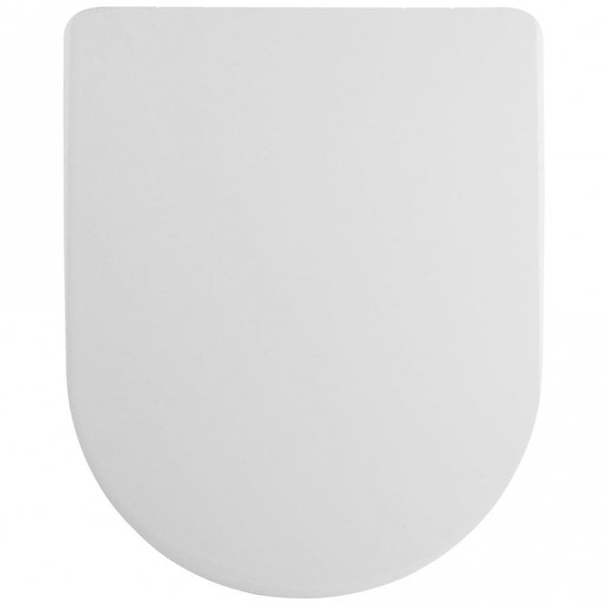 White Nuie NTS006 Luxury Soft Close Toilet Seat