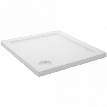 None Pearlstone Square Low Profile Shower Tray 760 X 760