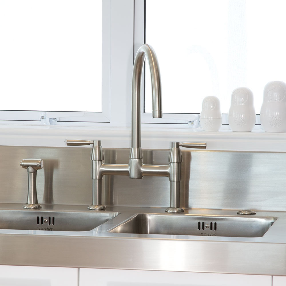 Perrin Rowe View All Twin Lever Taps View All Bridge Taps