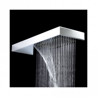 Phoenix Wall Mounted Rectangular Shower Blade 2 With Waterfall SH023