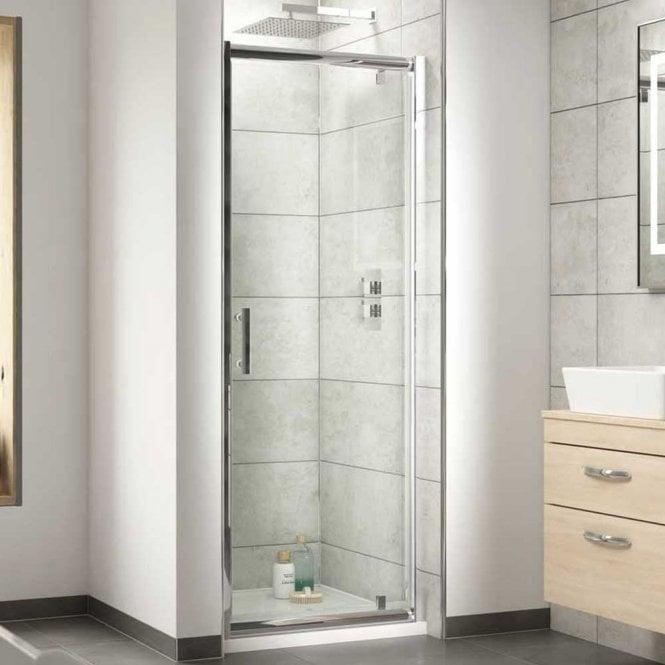 Premier Pacific Hinged Shower Door 700mm