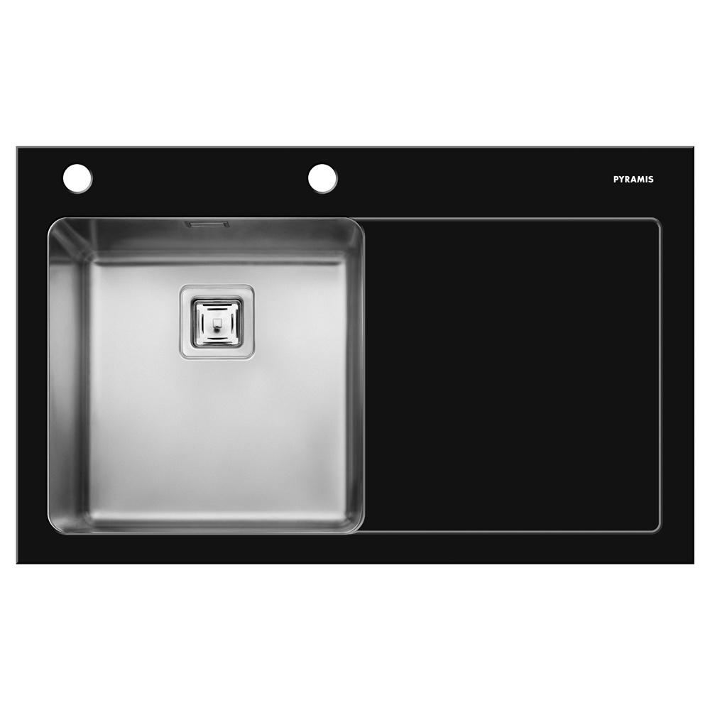 Black Stainless Kitchen Sink : ... ? View All 1.0 Bowl Sinks ? View All Pyramis 1.0 Bowl Sinks