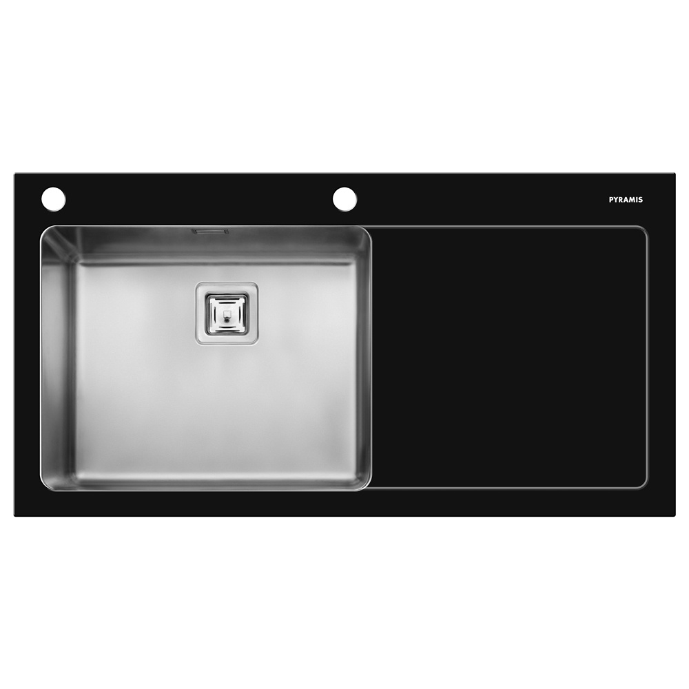 Large Stainless Steel Sinks Uk : ... ? View All 1.0 Bowl Sinks ? View All Pyramis 1.0 Bowl Sinks