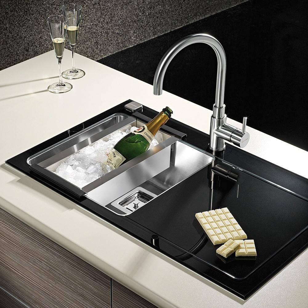 New stainless steel kitchen sink amp waste single 1 0 bowl 1 5 bowl - Thumbnail 7 Thumbnail 8 Thumbnail 9 Thumbnail 10