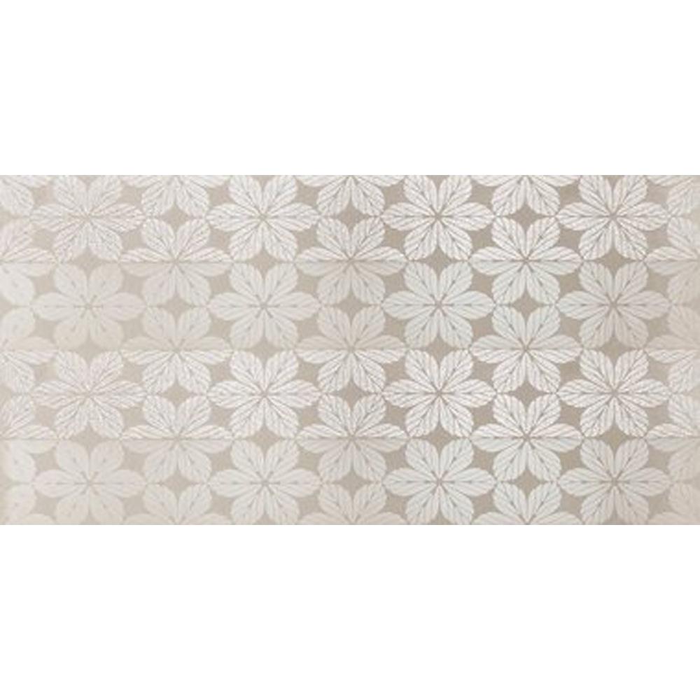 Rak Victoria Ivory Decor 400x800 Glossy Ceramic Tiles 4 Tiles 128m
