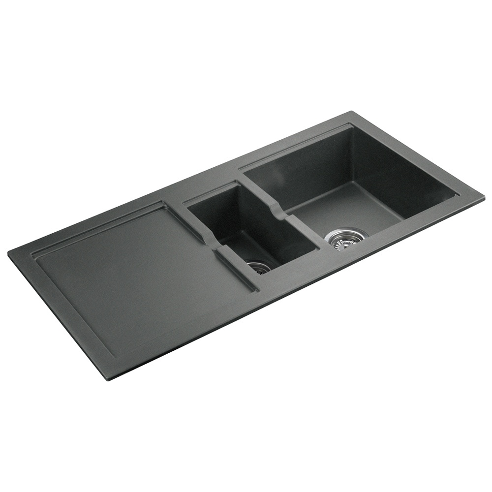Gray Granite Sink : ... ? View All 1.5 Bowl Sinks ? View All Rangemaster 1.5 Bowl Sinks