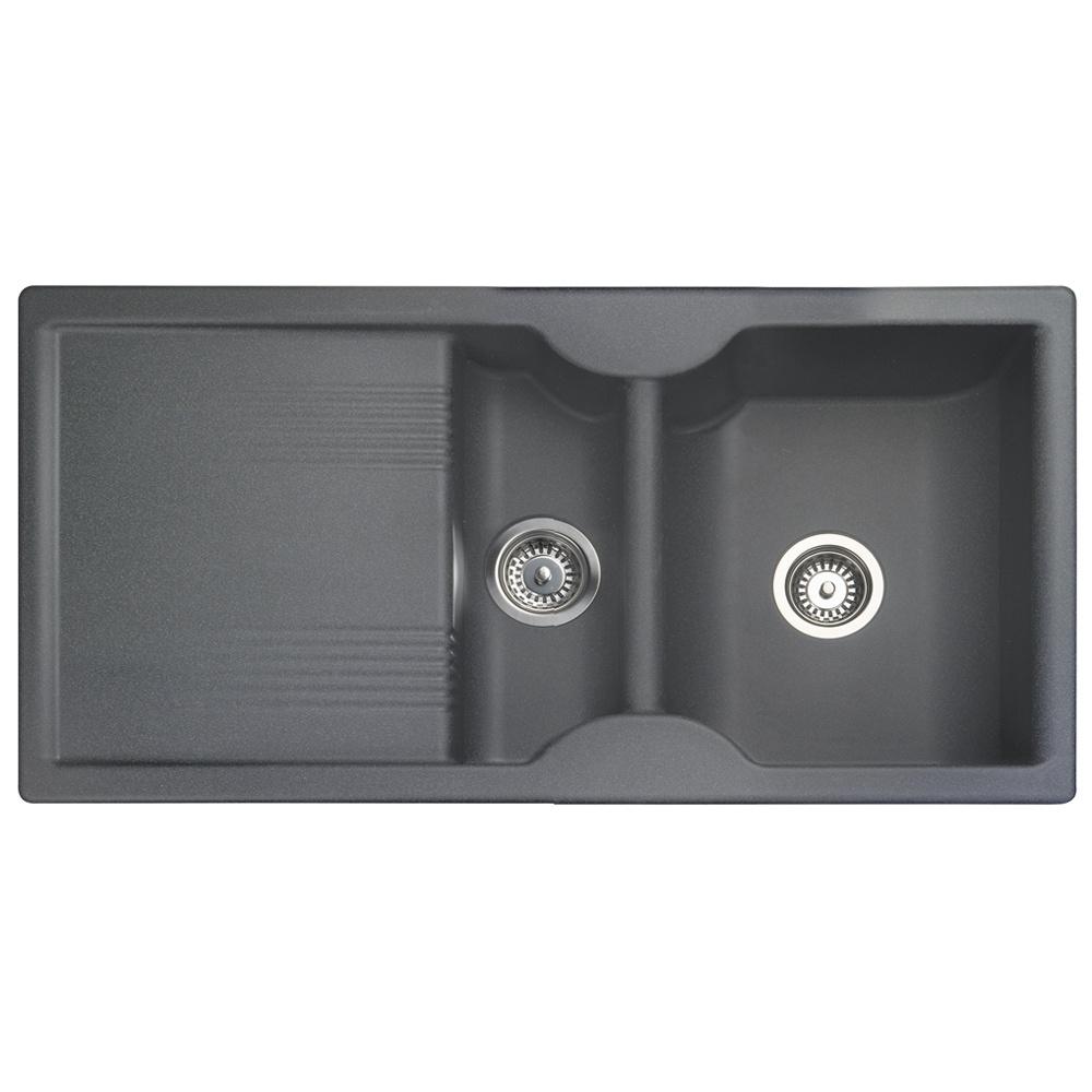 Grey Granite Sink : ... ? View All 1.5 Bowl Sinks ? View All Rangemaster 1.5 Bowl Sinks