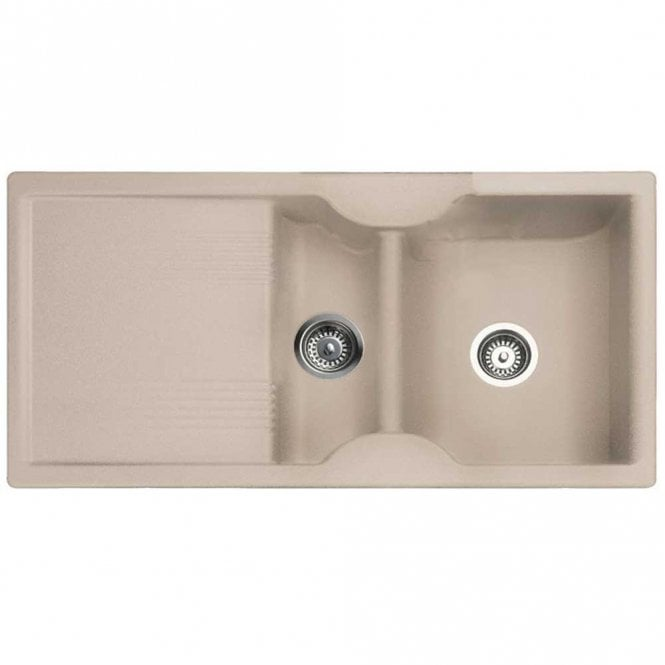 Rangemaster Kitchen Sinks Rangemaster lunar 15 bowl granite oatmeal reversible kitchen sink rangemaster lunar 15 bowl granite oatmeal reversible kitchen sink waste workwithnaturefo