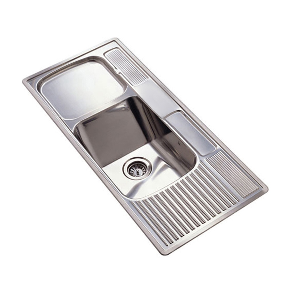 Single bowl double drainer stainless steel sink - Kitchen Sink Single Bowl Double Drainer Best Ideas 2017 Kitchen Sink And Drainer Zitzat