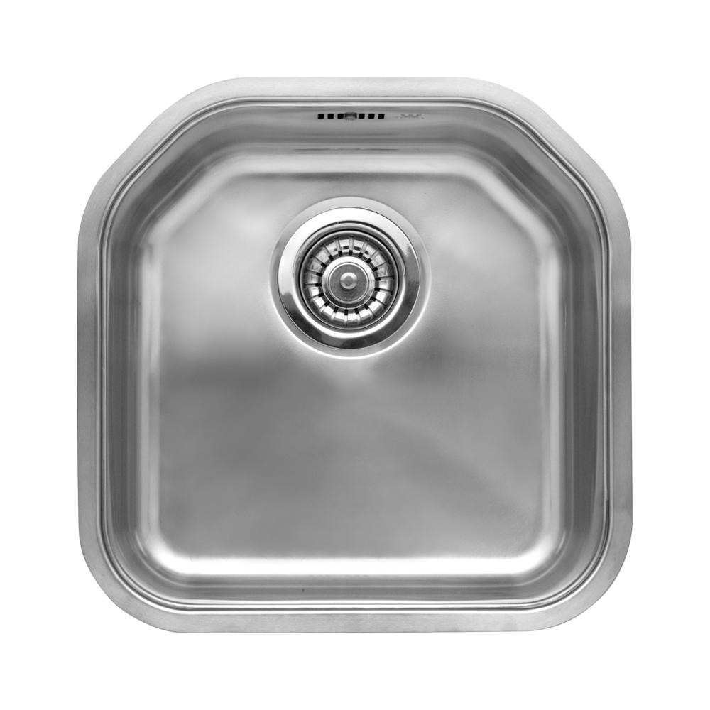 Reginox Denverl 10 Bowl Stainless Steel Undermount Kitchen Sink U0026 Waste.