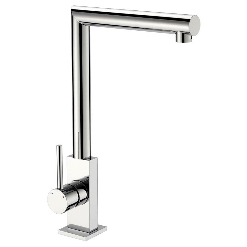 Reginox Niagara Chrome Contemporary Single Lever Kitchen Sink - Kitchen sink taps uk