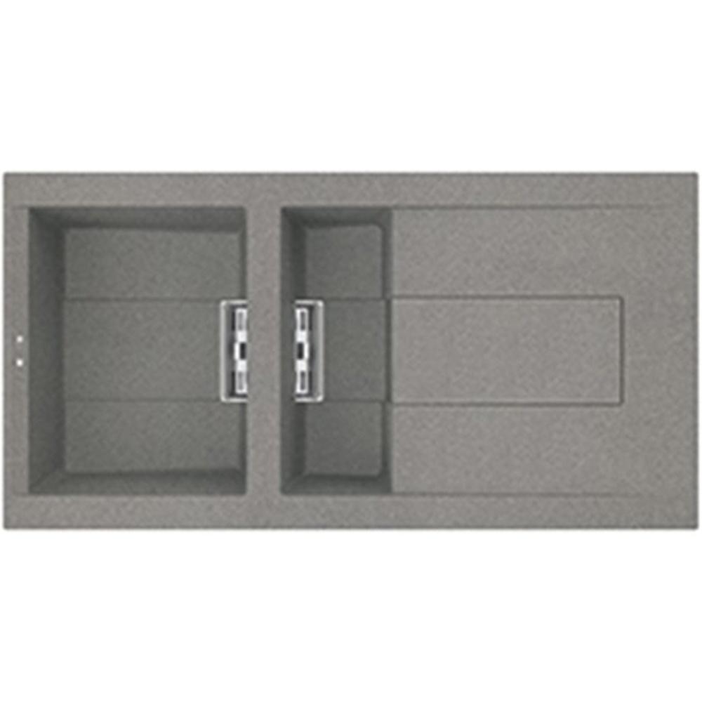 reginox smart 475 15 bowl granite titanium kitchen sink smart475 tt - Kitchen Sink Titanium