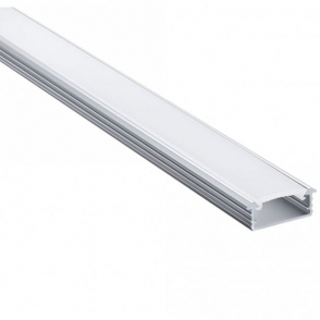 Sensio Linia Recessed Aluminium Profile - 2200mm SE980220